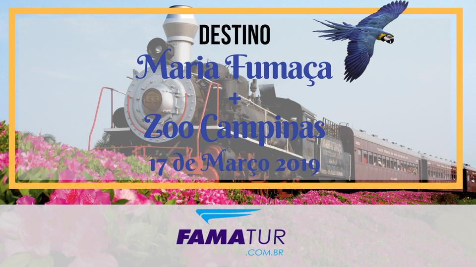 MARIA FUMAÇA + ZOO DE CAMPINAS