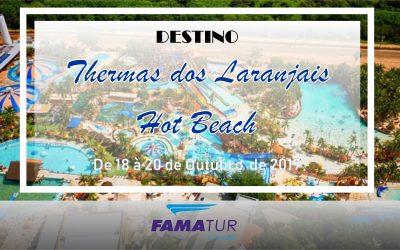 THERMAS DOS LARANJAIS + HOT BEACH