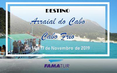 ARRAIAL DO CABO + CABO FRIO/RJ