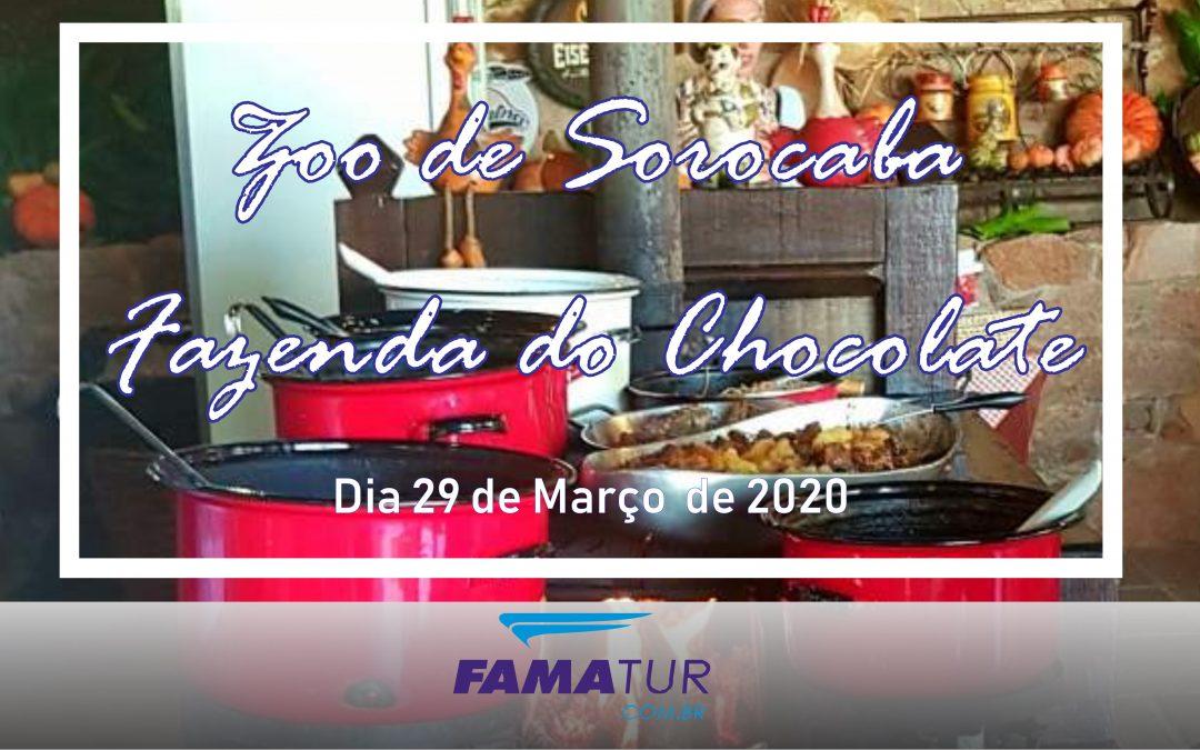 Zoo + Fazenda do Chocolate