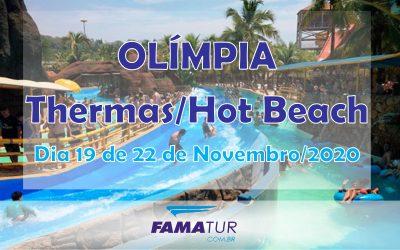 THERMAS DOS LARANJAIS + HOT BEACH – OLÍMPIA/SP